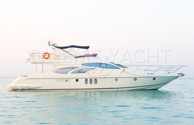 62ft Yacht Rental in Dubai Marina-1