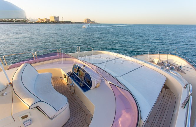 80ft Beautiful Yacht Rental-4