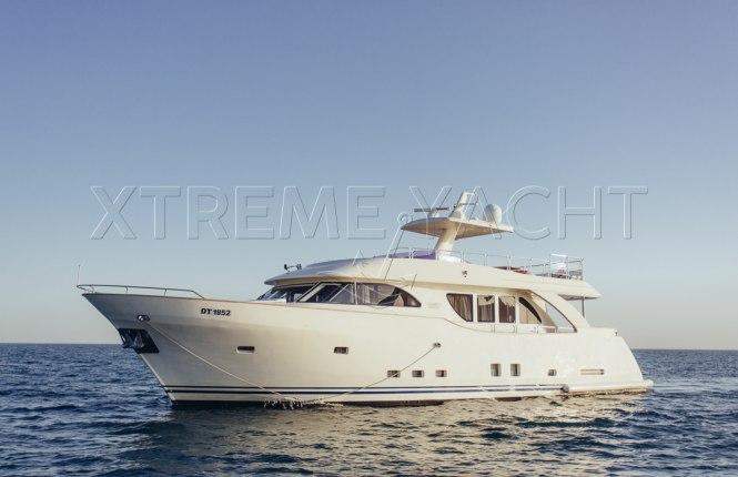 80ft Beautiful Yacht Rental-1