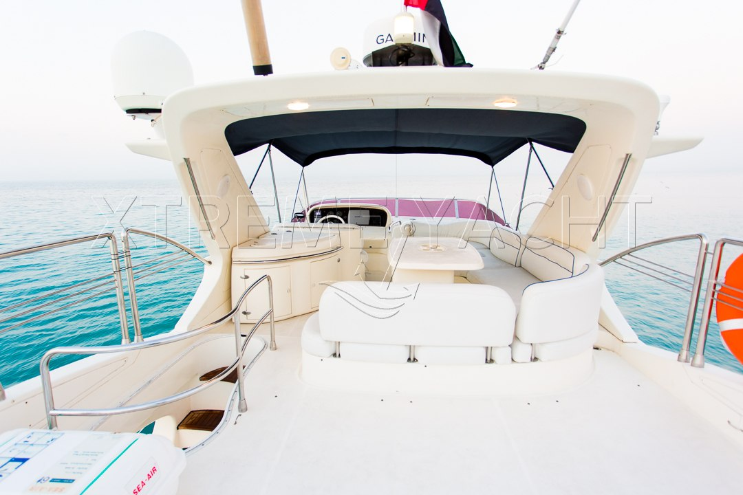62ft Yacht Rental in Dubai Marina-5