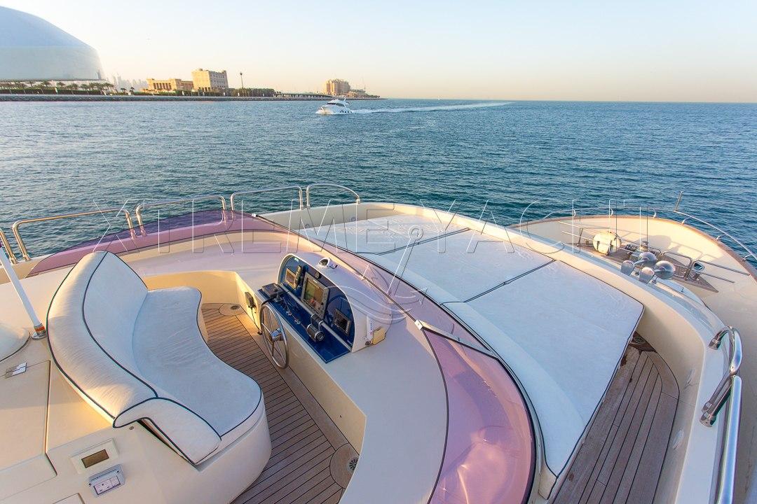 80ft Beautiful Yacht Rental-3