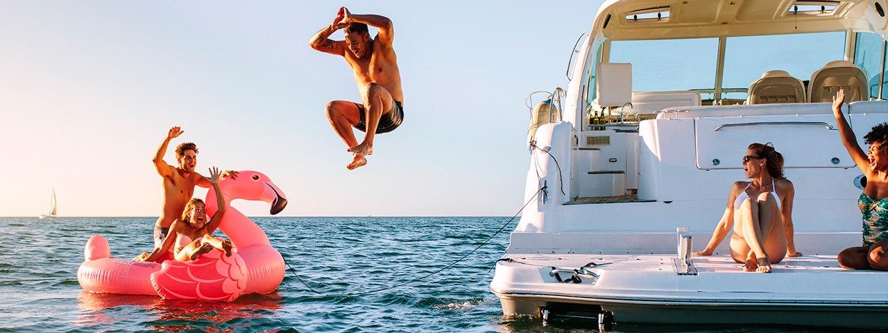 Celebrate Aboard a Party Yacht in Dubai